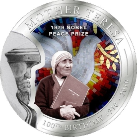 Mother Teresa 1979 Nobel Peace Prize