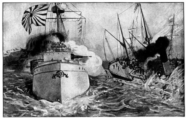 1894-07-25 attack on the kowshing