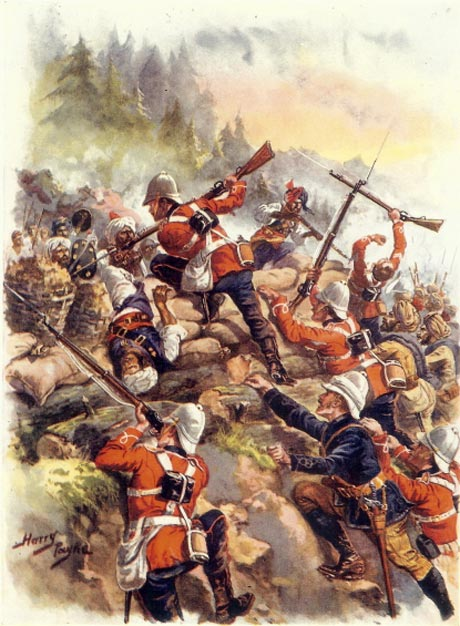 1878-12-02 Battle of Peiwar Kota