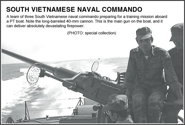 1964 South Vietnam Naval commandos
