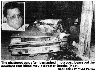 1991-05-21 Lino Brocka killed in Car Accident