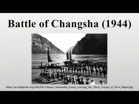 1944-06-21 Fall of  Changsha