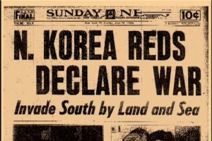 1950-06-25 North Korea invades South Korea
