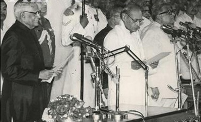 1991-06-21 Narasimha Rao sworn in