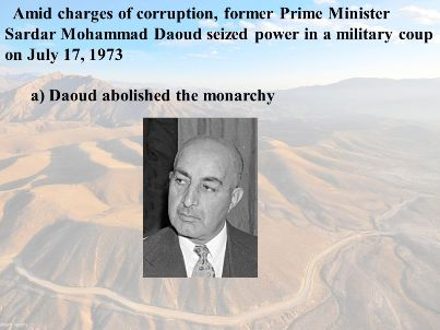 1973-07-17 Mohammad Daoud