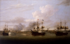 1757-03-23 Capture de Chandernagor par la Royal Navy