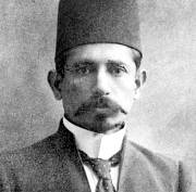 Mr. Omar Hajee Amod Jhaveri, joint secretary, Natal Indian Association, who in many public capacities during the struggle rendered great service to the Community, c. 1910.
