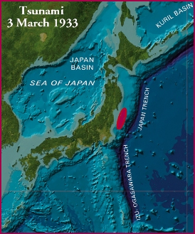 1933-03-02 Sanriku earthquake