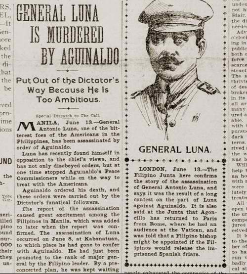 1899-06-05 Antonio Luna assassination
