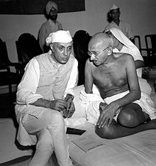 1942 Gandhi and_Nehru