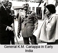 1949-01-15 General K M Cariappa Army commander