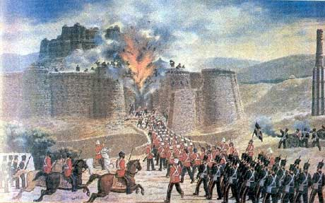 1839-07-23 Battle of Ghusnee