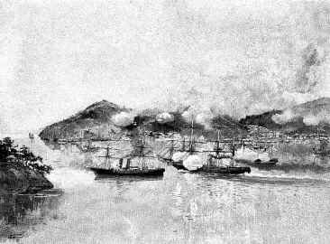 1863-07-16 Battle of Shimonoseki Strait